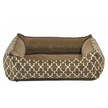 Oslo Ortho Bed Cedar Lattice