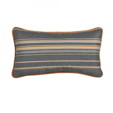 """Outdoor Throw Pillow Rectangular Cabana Stripe 12""""x21"""""""