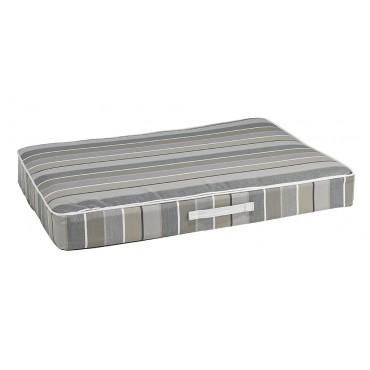 Rectangular Patio Cushion Boardwalk Stripe MED