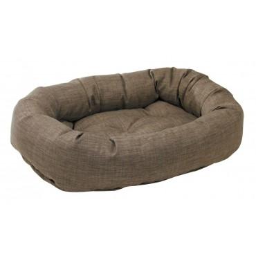 Donut Bed Driftwood Microlinen