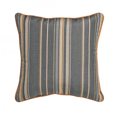 "Outdoor Throw Pillow Square Cabana Stripe 16""x16"""