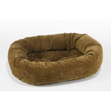 Donut Bed Pecan Filigree