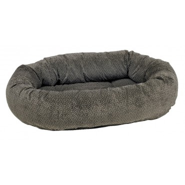 Donut Bed Pewter Bones