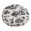 Super Soft Round Onyx Toile