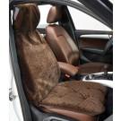 Chocolate Bones Single Seat Cover