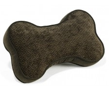 Sofa Toss Pillow Chocolate Bones