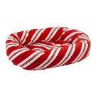 Donut Bed Peppermint Stripe