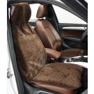 Chocolate Bones Single Seat Cover
