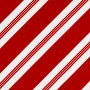 Peppermint Stripe Microvelvet
