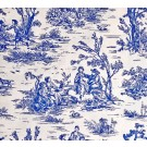 Fabric by the Yard Wedgewood Toile