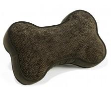 Sofa Toss Pillow Chocolate Bones