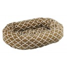 Donut Bed Cedar Lattice