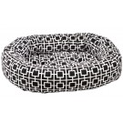 Donut Bed Courtyard Grey