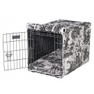 Crate Cover Onyx Toile