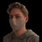 Designtec Mask Sandstone - Avail in Mens / Womens / Kids